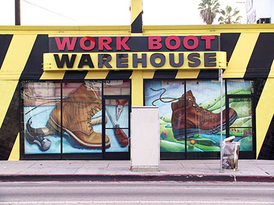 Work Boots Warehouse - Boot 2017